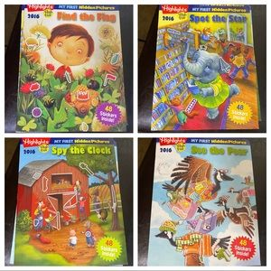 HIGHLIGHTS Hidden Picture 4Pack NEW Activity Books